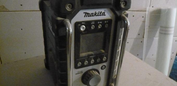 Makita Baustellen Radio zum arbeiten