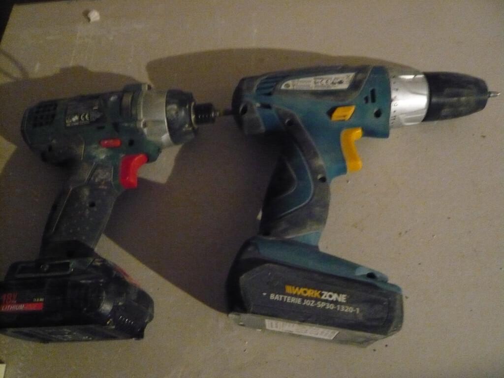 Akkuschrauber als Trockenbau Werkzeug