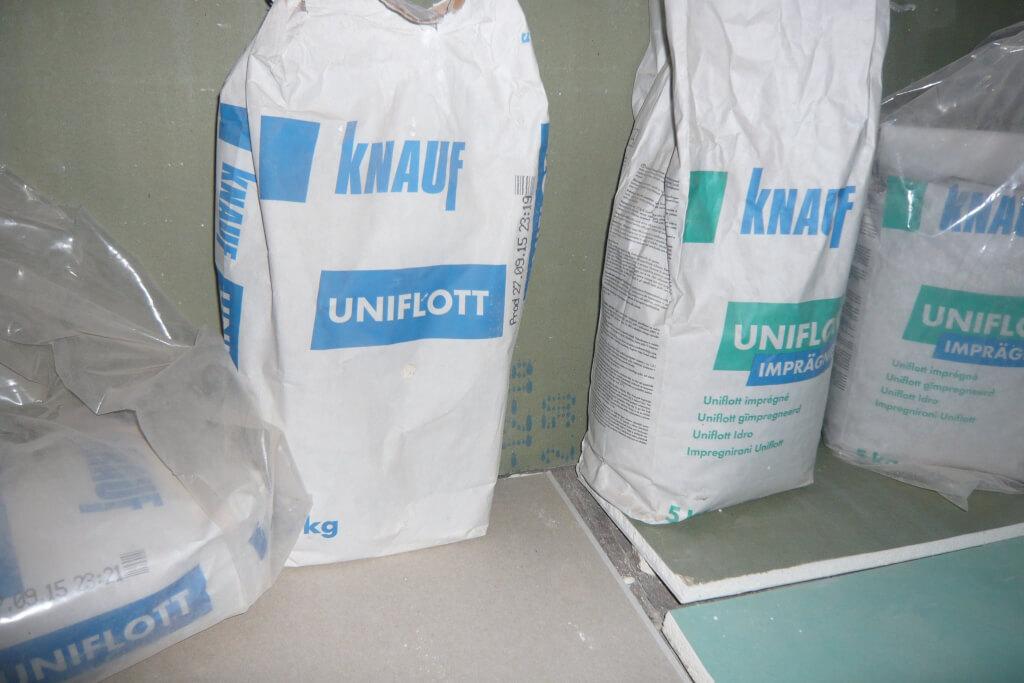 Knauf Uniflott grün