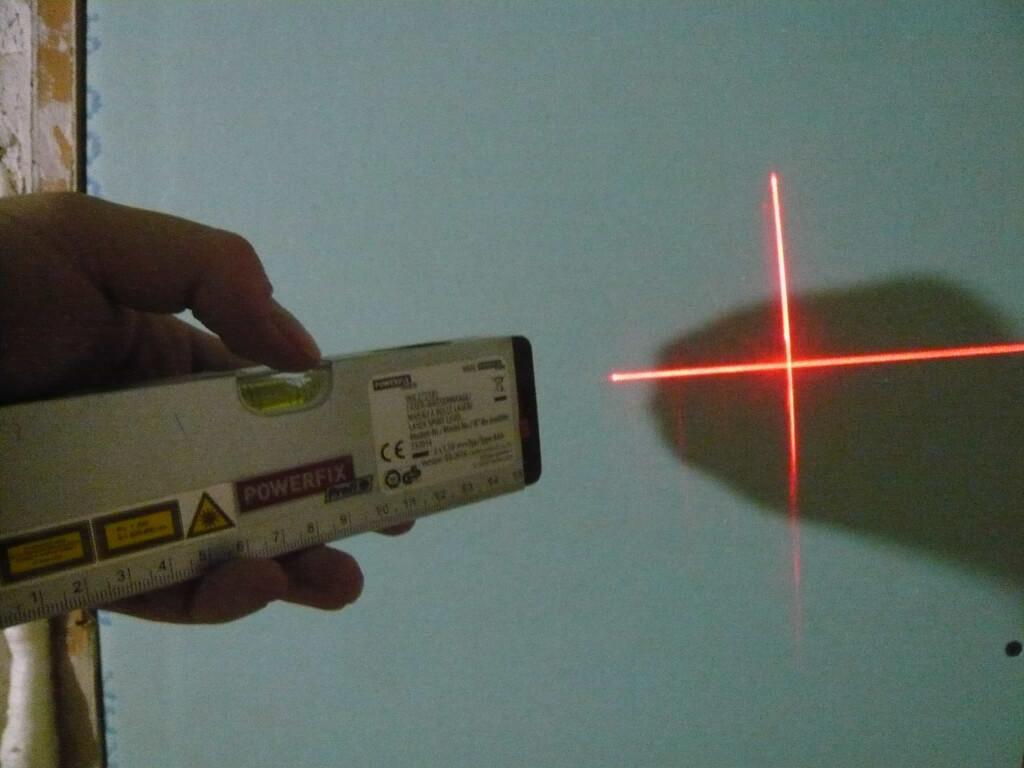 Laser Wasserwaage