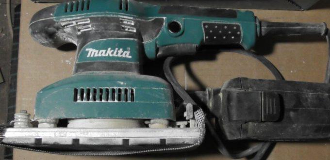 schwing Schleifer von Makita