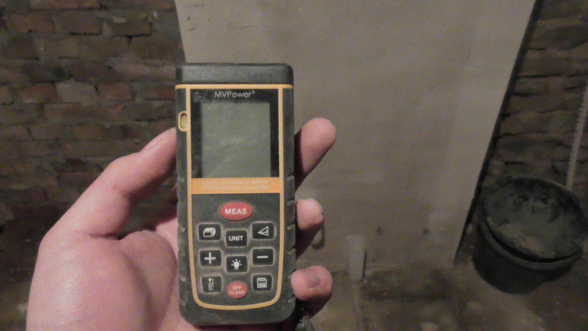 Mein Laser Entfernungsmesser