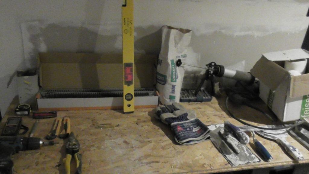 Trockenbau Werkzeug Liste